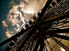 Ferris wheel at Navy Pier in Chicago.