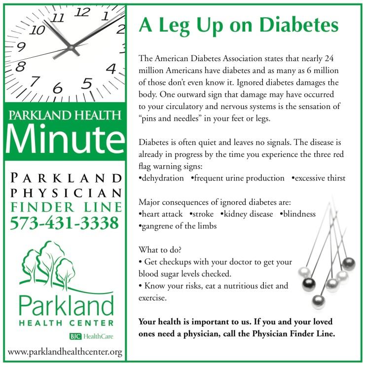 Health Minute Ad