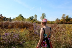 Image of girl in a field.