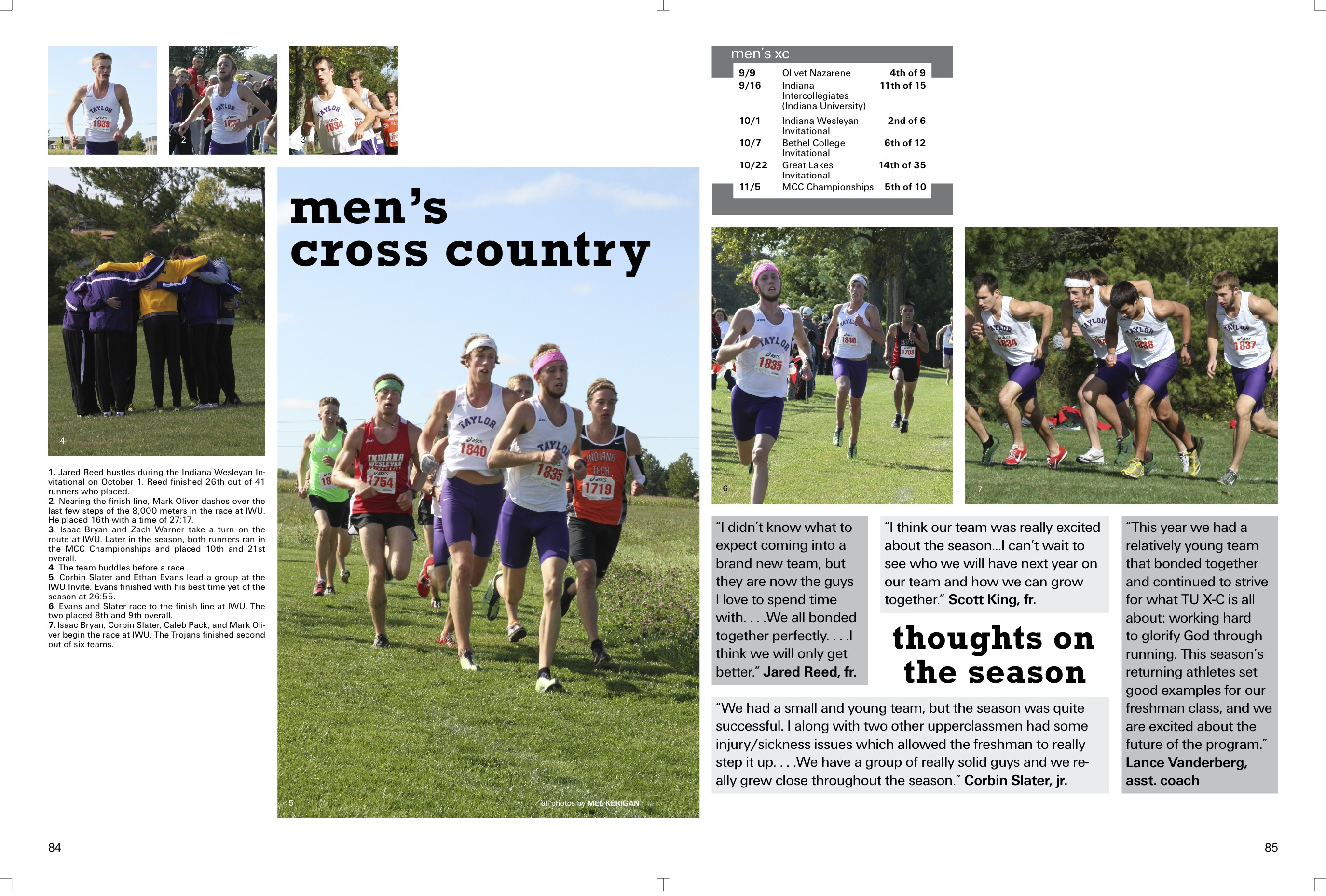 yearbook profile      men u2019s cross country  u2013 taylor blake u0026 39 s