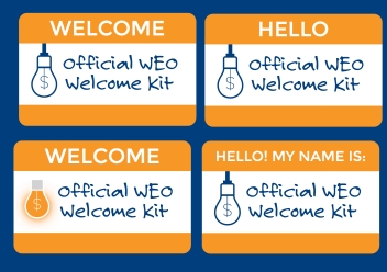 WEO Welcome Kit Icon